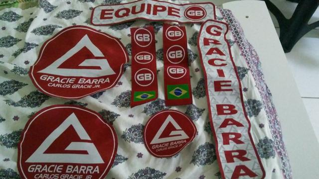 Patches Gracie Barra