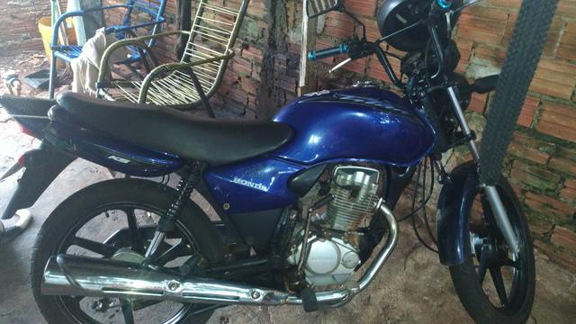 vendo moto cg 125 honda ks 2003 motos jardim santa f. Black Bedroom Furniture Sets. Home Design Ideas