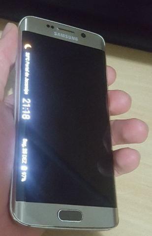 Celular Samsung Galaxy S6 Edge Dourado 64gb Semi Novo