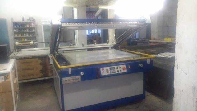 Impressora Serigráfica, Semi-automática, New Technology,