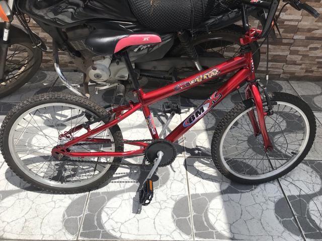 Bicicleta infantil aro 20 unissex