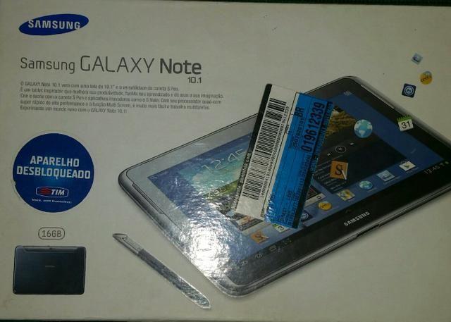 Tablet Samsung Galaxy Note 10.1 semi novo
