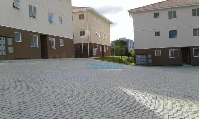 Apartamento com 2 dormitórios à venda, 49 m² por r$ 135.700 - thomaz coelho - araucária/pr