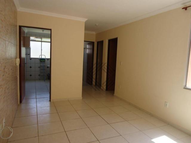 Apartamento com 2 dormitórios para alugar, 46 m² por r$ 650/mês - jardim ipanema - sorocab - Foto 3
