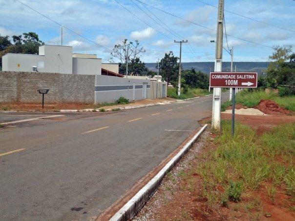 Lotes financiados santuario Salete em Caldas Novas  -  Mansões Recanto da Serra - Foto 3
