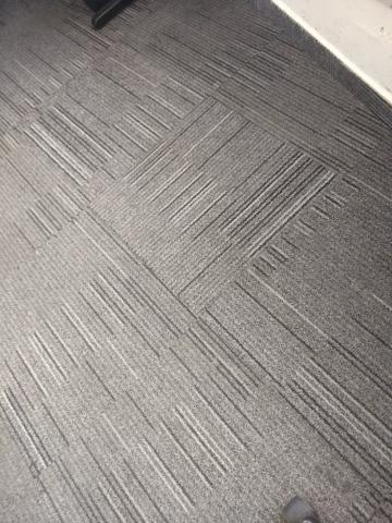Placas de carpete emborrachado 50x50