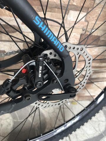 Bike South aro 29 com suspensão NOVA - Foto 3