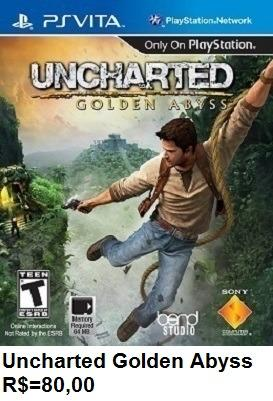Uncharted Gold Abyss de Psvita