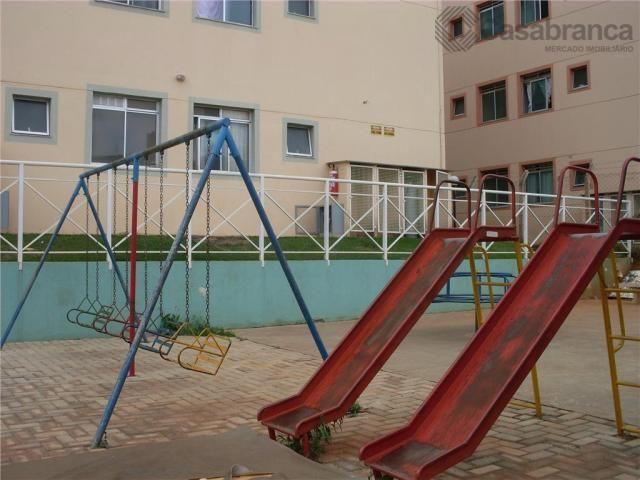 Apartamento com 2 dormitórios para alugar, 46 m² por r$ 650/mês - jardim ipanema - sorocab - Foto 18