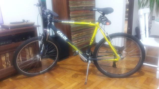 Bicicleta + capacete