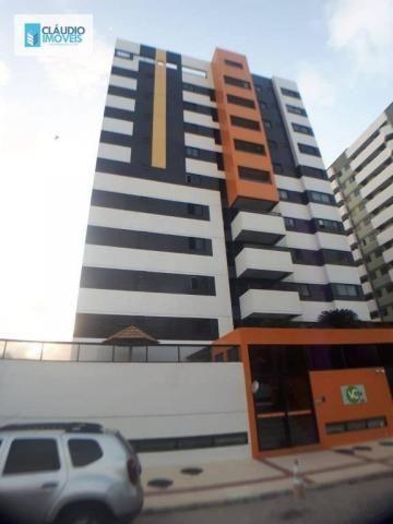 Apartamento com 3 dormitórios à venda, 110 m² por r$ 580.000 - jatiúca - maceió/al
