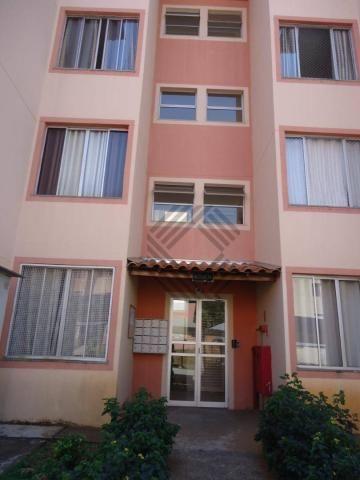 Apartamento com 2 dormitórios para alugar, 46 m² por r$ 650/mês - jardim ipanema - sorocab