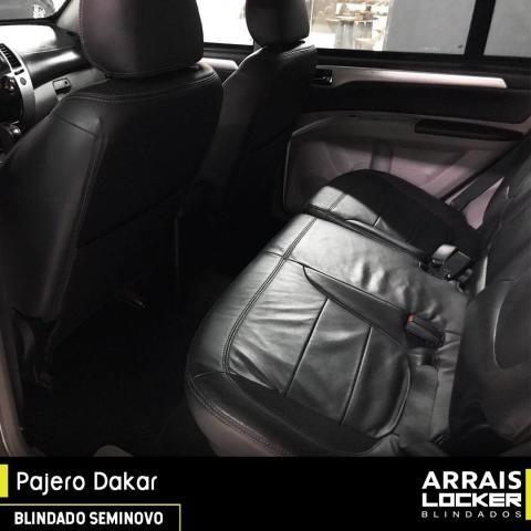 Mitsubishi pajero dakar 2012/2012 3.2 hpe 4x4 7 lugares BLINDADO - Foto 6