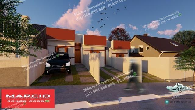 Casas 2 Dormitórios Pátio Fundos Bairro Bom Sucesso Gravataí Minha Casa Minha Vida!!