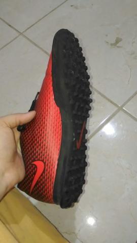 Chuteira Nike Society Bravata Original - Foto 2