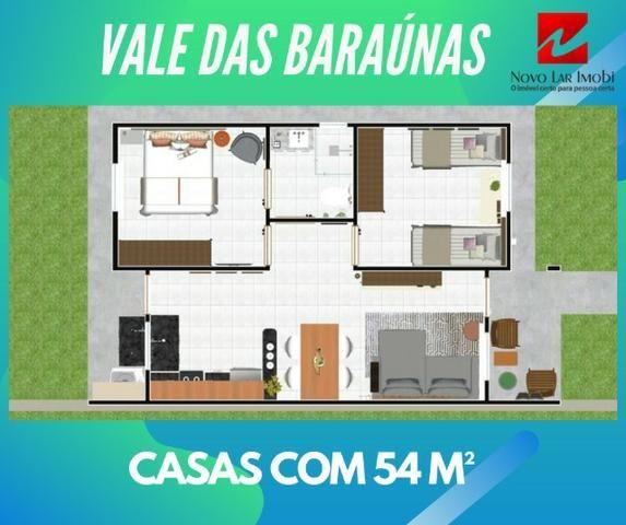 Casa em Nova Caruaru - 2 quartos - Financiada pela caixa com renda de R$ 1.500 - Foto 7