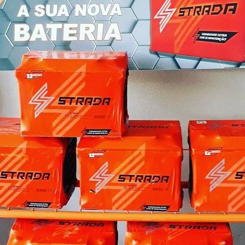 Baterias Strada Fabricação 150ah Heliar para caminhão ônibus utilitário nova  Delivery - Foto 5