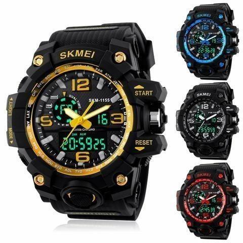 91b435489fb Relógio Skmei G-Shock Original Prova D água - Bijouterias