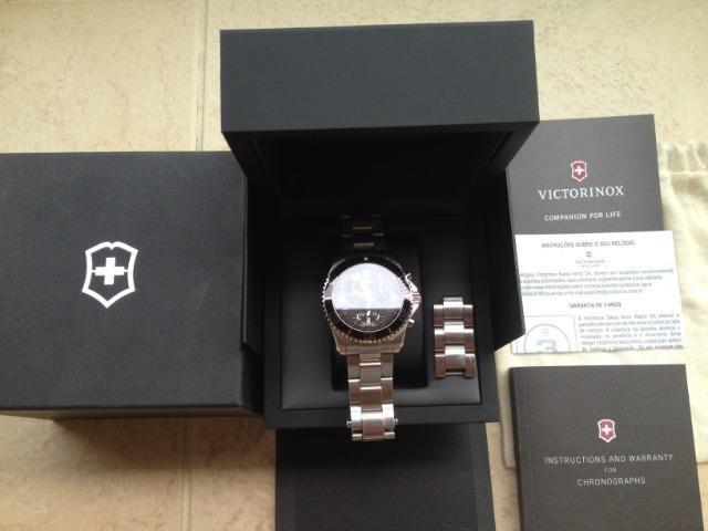 f13f991349d Relógio Victorinox Swiss Army Modelo Maverick Chronograph