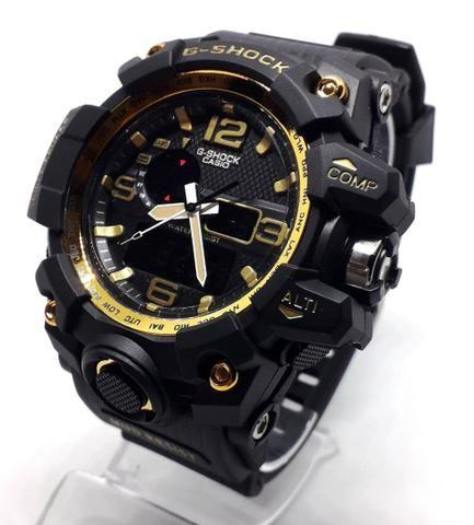 9b8ed17304a Relógio G-Shock Preto com Dourado - Bijouterias