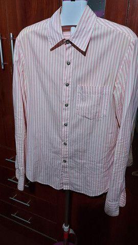 2 Camisas manga longa Contraponto e 1 manga curta Crawford (R$30 cada) - Foto 3
