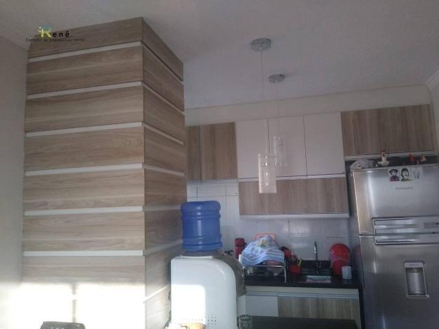 Apartamento pronto em Hortolândia Região Central- Cond. Laranjeiras - Foto 3