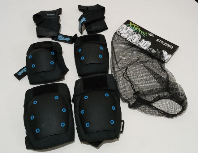 Kit Proteção Skate X-Seven - NOVO - Tam: M