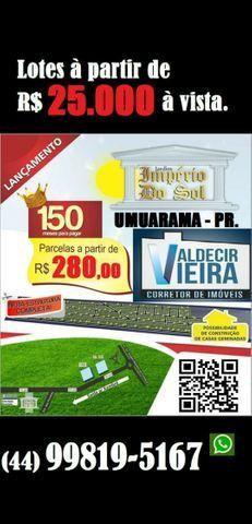 Loteamentos Umuarama, Mandaguaçu e Maringá - Foto 2