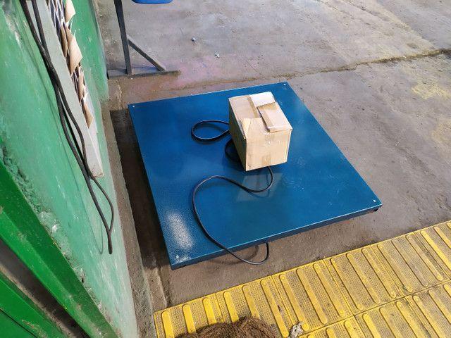 Balança Eletrônica 1000 kg 1 Tonelada Bateria/Bivolt  - Foto 4