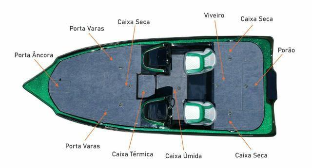 Bass Boat X-Raptor Xboats - Foto 4