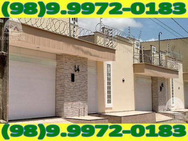 4I1Excelente Casa Nova Com Dois Quartos No Altos Do Turu - Foto 8