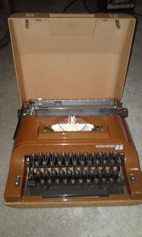 Maquina Portátil De Escrever Remington 25