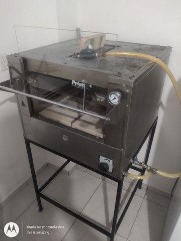 Vendo forno de pizzas e pães  promac 500 graus com infravermelho - Foto 4