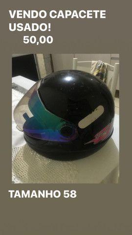 Vendo capacete usado - Foto 2