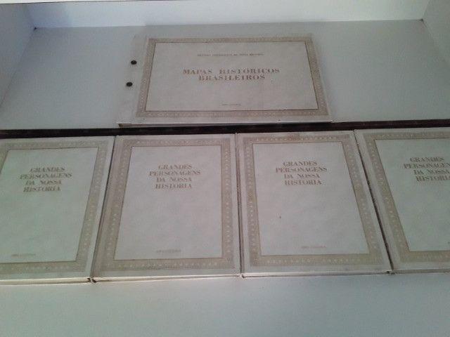 Coleção Grandes Personagens da Nossa História 5 volumes - Foto 3