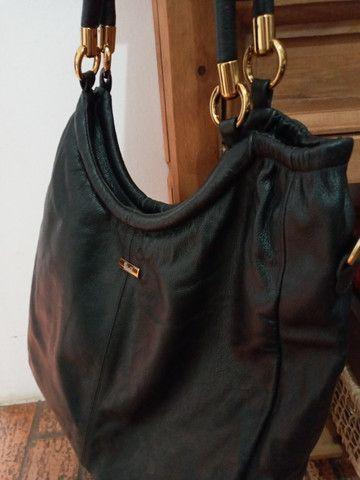 Bolsa em couro preta - Steil - Foto 6