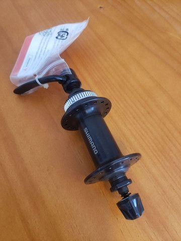 Cubo dianteiro Shimano TX 505 32F  - Foto 2
