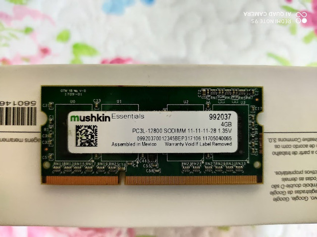 Memória Ram Notebook Mushkin 4gb Ddr3 992037 Oferta