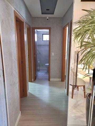Lindo apartamento todo pronto com varanda gourmet na ponta verde - Foto 6