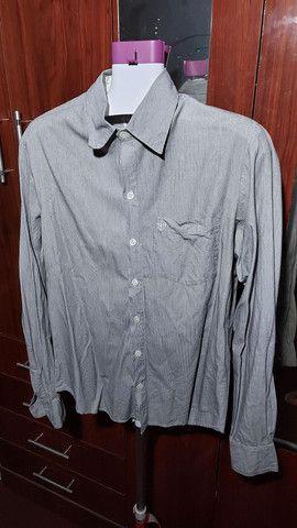 2 Camisas manga longa Contraponto e 1 manga curta Crawford (R$30 cada)