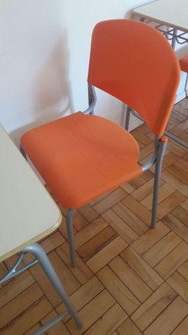 Conjunto carteira escolar cadeira e mesa - Foto 2