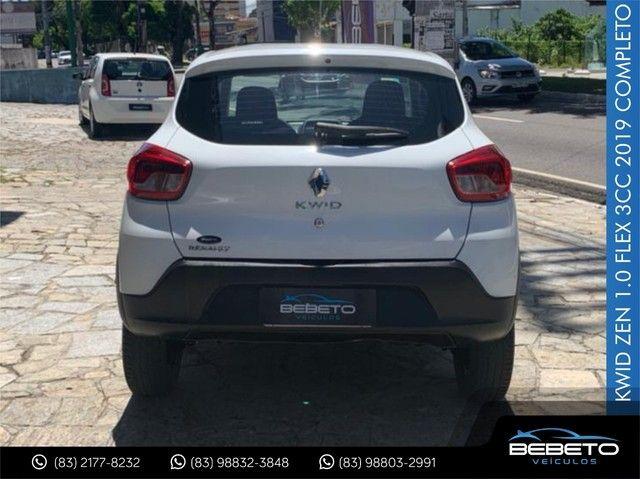 Renault Kwid Zen 1.0 Flex 2019 Completo - Foto 7
