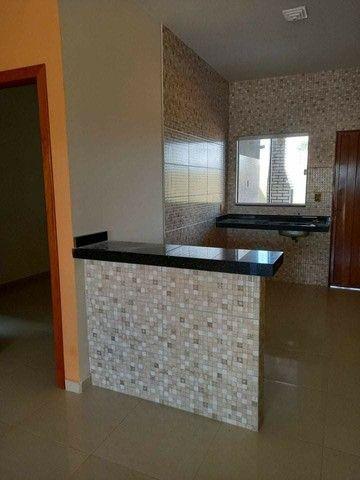 Casa nova com suite e porcelanado e churrasqueira  canelas vg - Foto 9