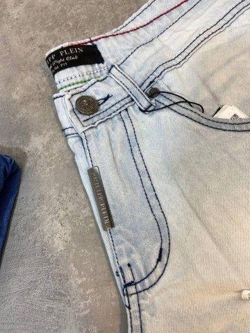 Bermudas Jeans Grife