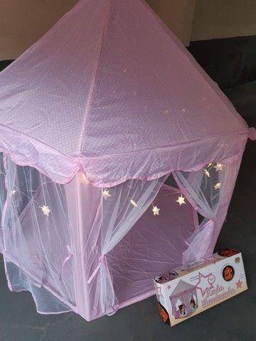 Tenda iluminada com luzes decorativas-  marca- dm/ toys. - Foto 4