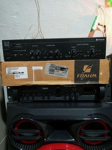 Amplificador Slim 5000 da Frahm - Foto 2