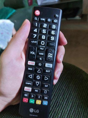 Smart tv 32 polegadas, lg, poucos meses de uso - Foto 2
