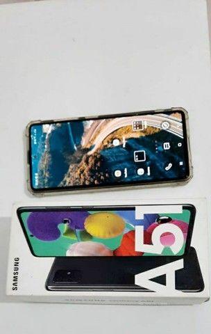 Samsung A51 seminovo apenas 2 meses de uso - Foto 2