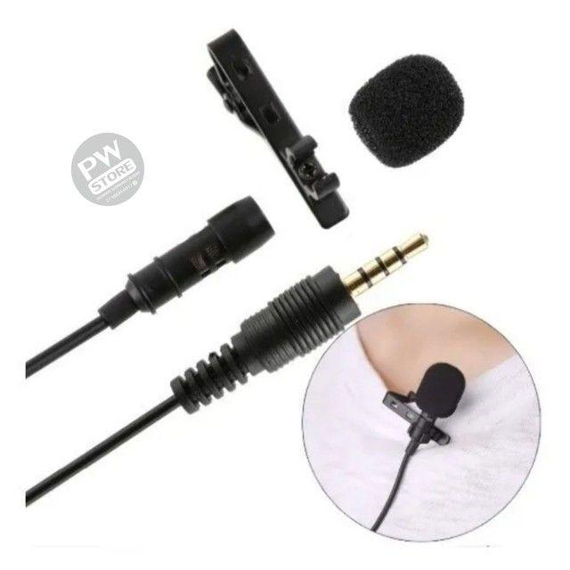Microfone Lapela - Loja PW STORE - Foto 2