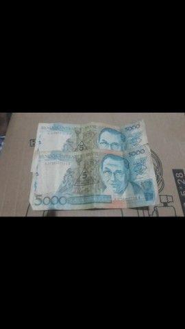Cédulas  de dinheiro  antigo - Foto 3